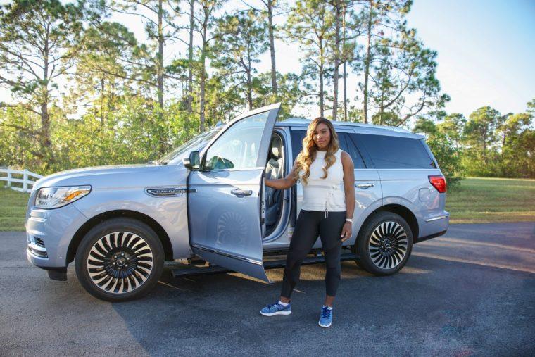 Serena Williams Lincoln Navigator