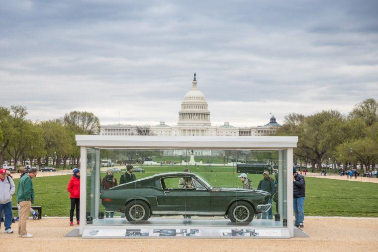 968 Ford Mustang GT Bullitt National Mall