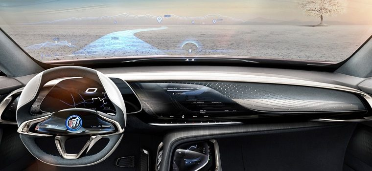 Buick Enspire interior