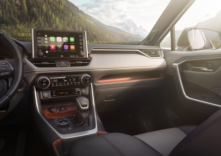 2019 Toyota RAV4 interior luxury