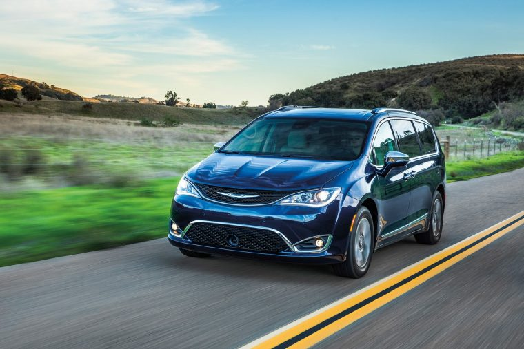2018 Chrysler Pacifica Hybrid