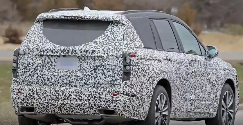 New Spy Shots of the 2020 Cadillac XT6 - The News Wheel