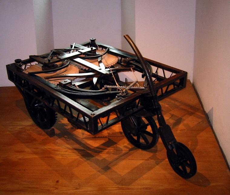 Self Propelled Cart >> Celebrate Leonardo da Vinci's Birthday by Reading About ...
