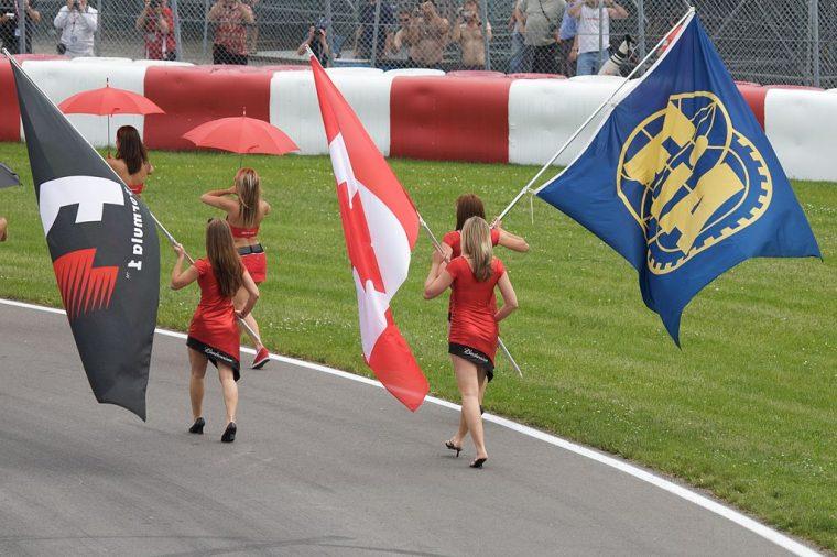 Formula One Grid Girls