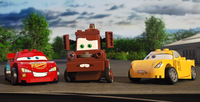 Dejlig New Short Film Turns the Stig Into a LEGO Car to Race Lightning QN-05