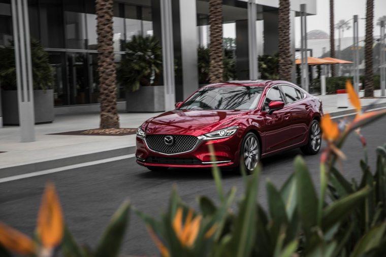 2018 Mazda6 IIHS Top Safety Pick