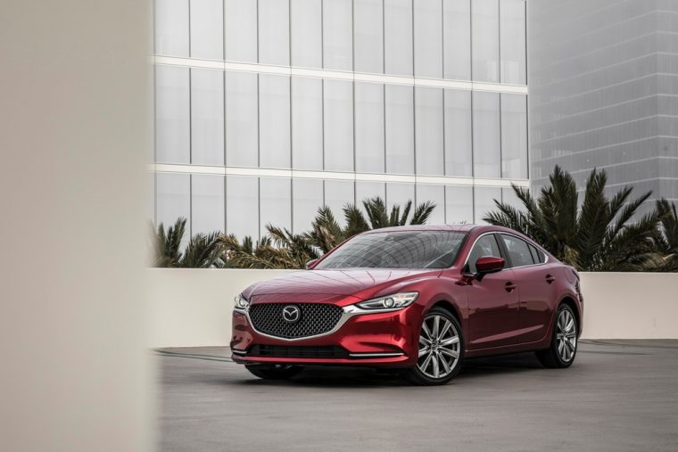 2018 Mazda6 IIHS Top Safety Pick