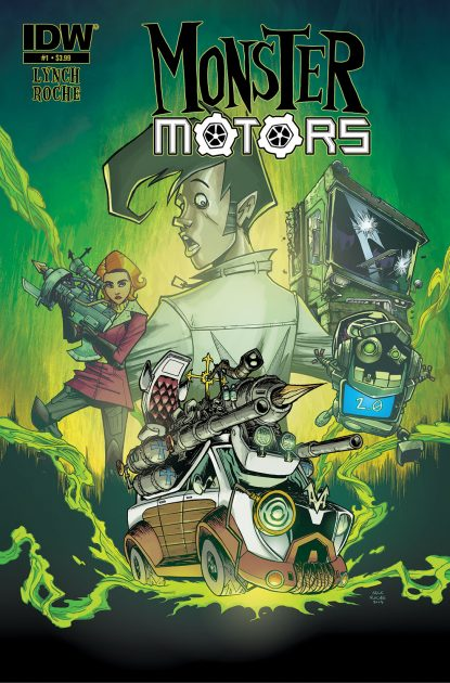 Monster Motors comic book graphic novel automotive cars racing gearheads series