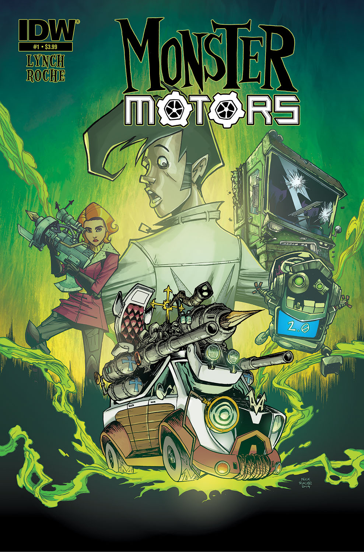monster motors comic helsing cars graphic minivan curse automotive books comics novels comicbooks idwpublishing vh cvr most monsters road novel