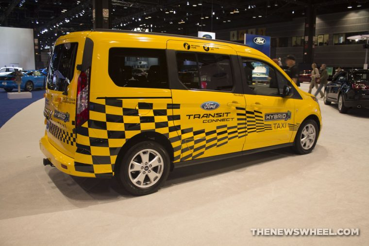 2017 Ford Transit Connect Hybrid Taxi
