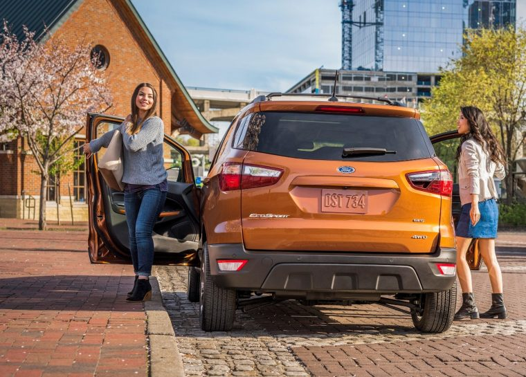 2018 Ford EcoSport and a Gen Zer