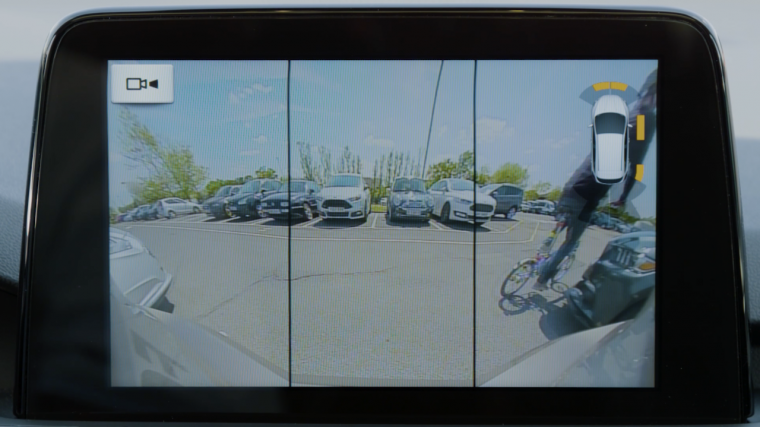 New Ford Focus Wide Rear View Camera