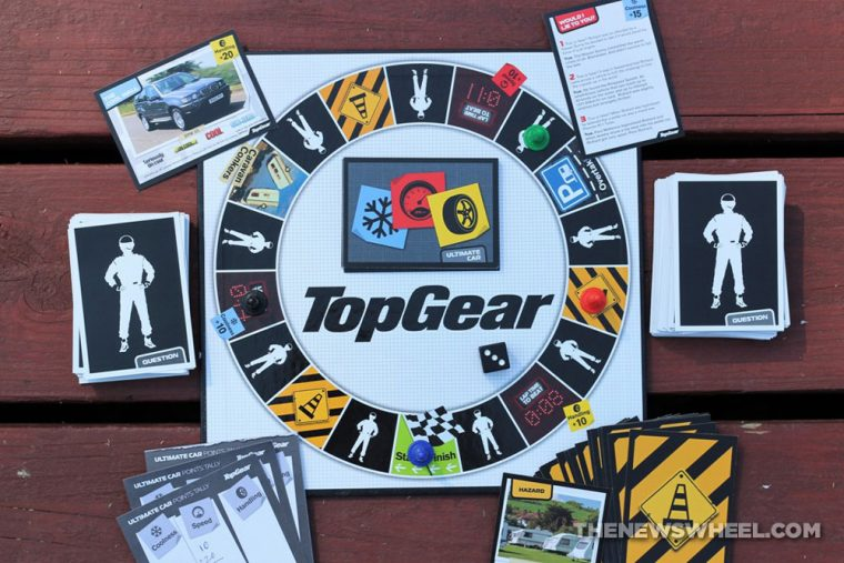 BBC Top Gear official board game review trivia collector item car knowledge quiz automotive