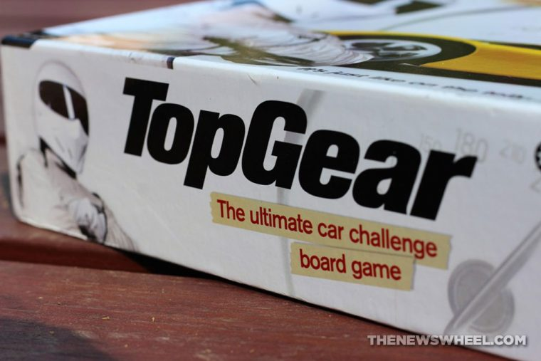 BBC Top Gear official board game review trivia collector item car knowledge quiz automotive box rules