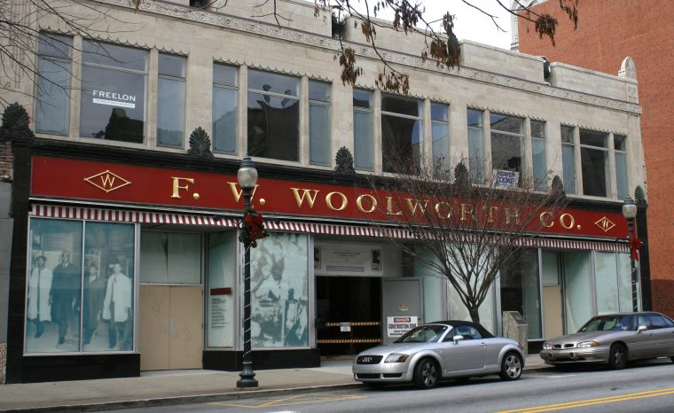 Former Woolworth Store in Greensboro NC