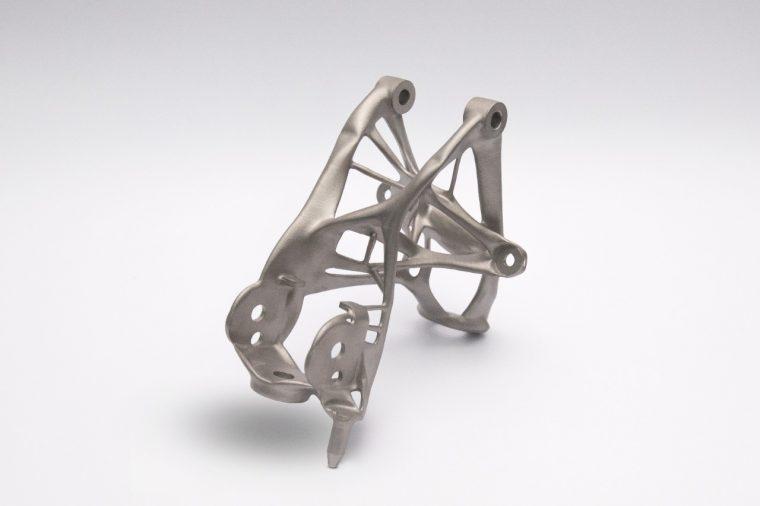 General Motors next-gen 3D printed lightweighting seat bracket proof of concept