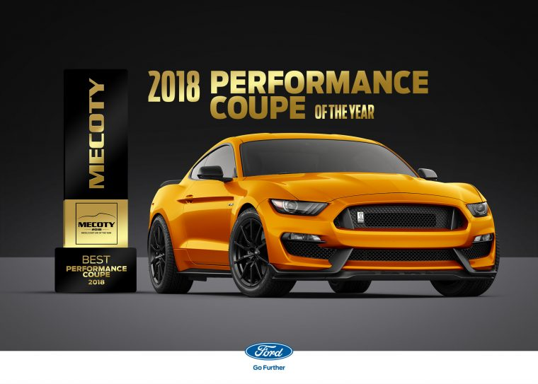 Ford Mustang Shelby GT350 Middle East Car of the Year Performance Coupe of the Year