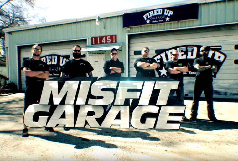 Misfit Garage Discovery Channel Gearhead TV Show