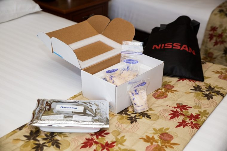 New breast milk shipping program helps Nissan parents
