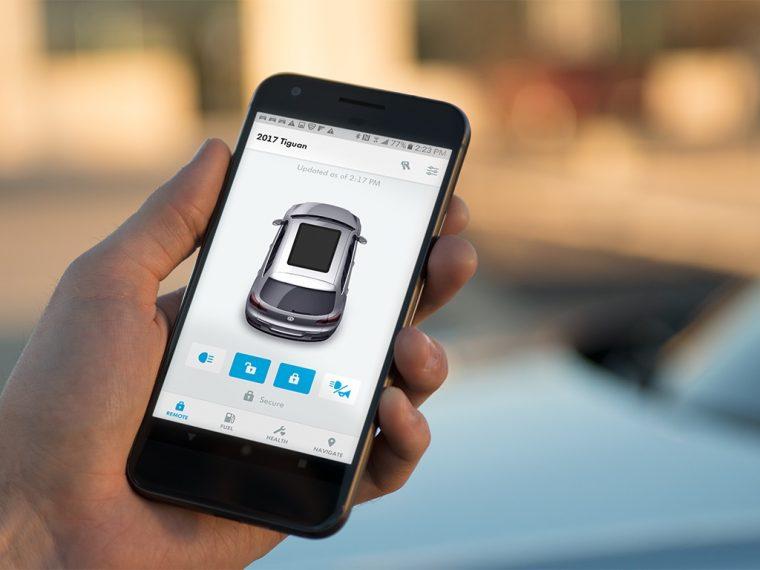 Volkswagen Car-Net Mobile App Update
