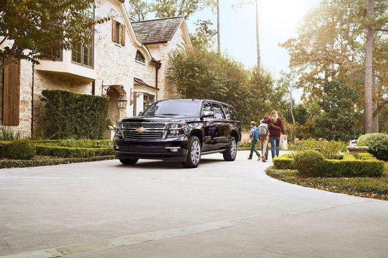 2018 Chevrolet Suburban exterior larger SUV