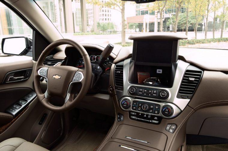 2018 Chevrolet Suburban interior