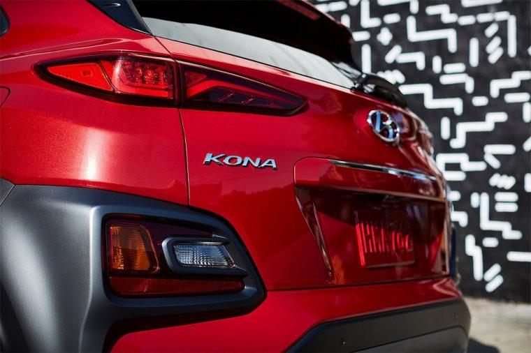2018 Hyundai Kona exterior features