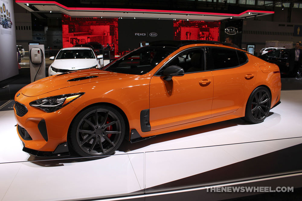 2018 Kia Stinger GT Named One of the Best Four-Door Sports Cars by US News - The News
