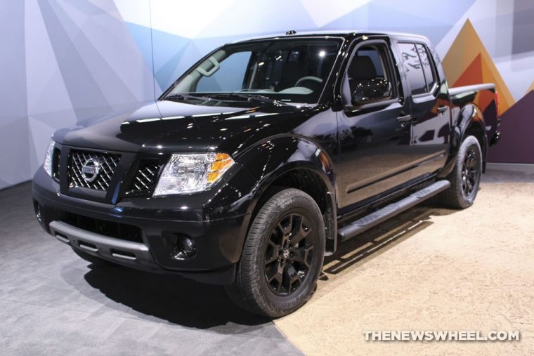 2018 Nissan Frontier at the 2018 Chicago Auto Show