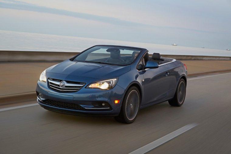 Opel Cascada and Buick Cascada convertible