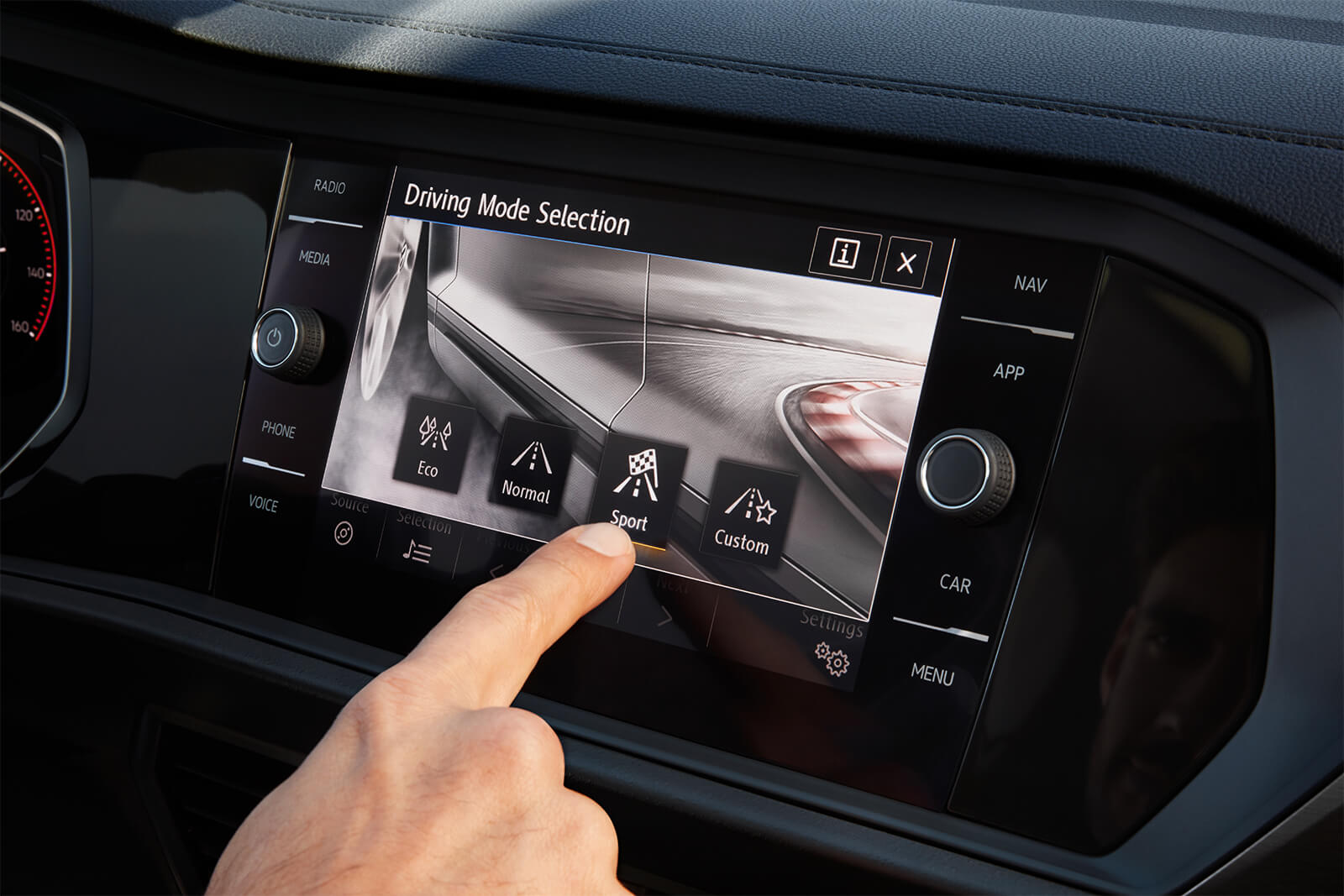 2019 Volkswagen Jetta Driving Mode Selection