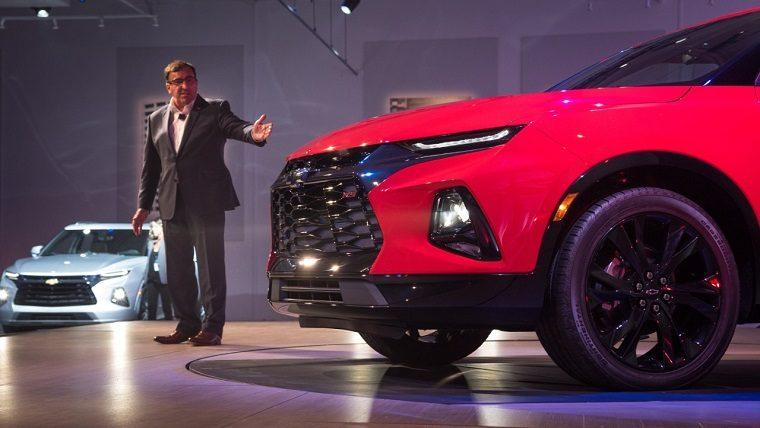 Chevy Reveals Exterior and Interior Hues of 2019 Blazer ...