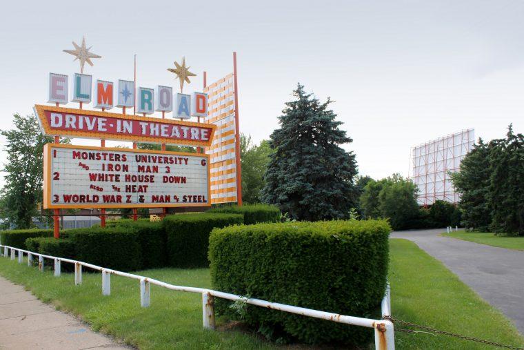 Elm Road Drive-In Theater Warren Ohio