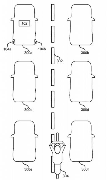 Ford Lane-Splitting Patent