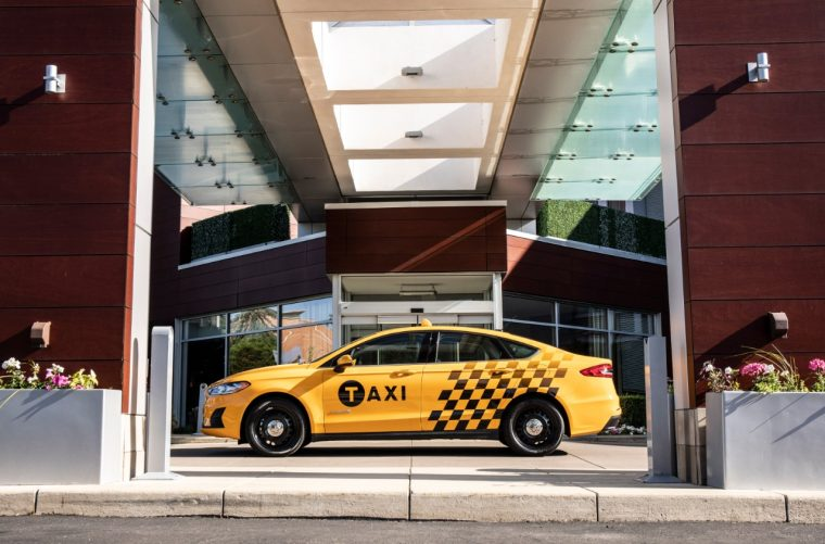 2019 Ford Fusion Hybrid Taxi