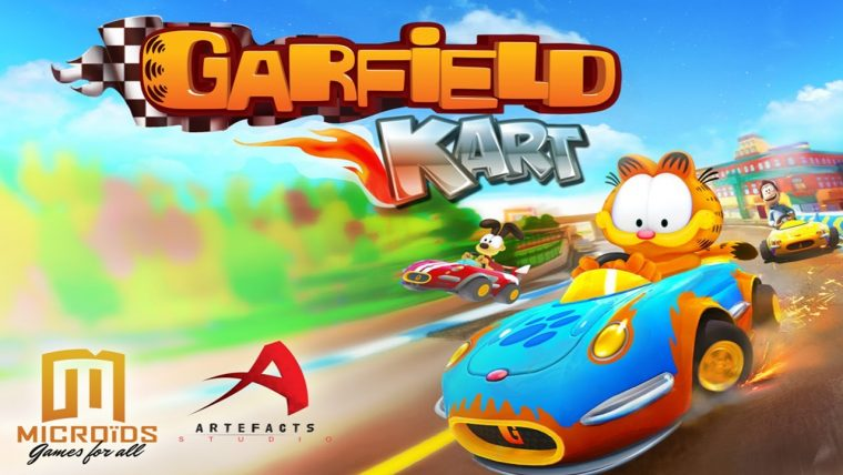 Review Garfield Kart The News Wheel