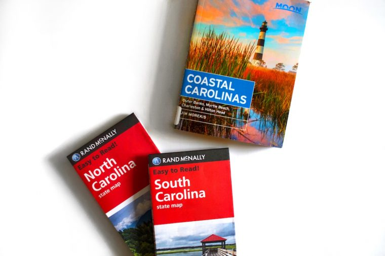 Coastal Carolina Books and Maps