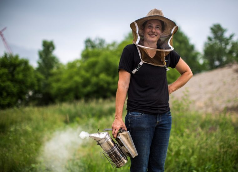 Megan Milbrath Michigan beekeeper