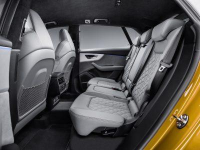 New Audi Q8 back row