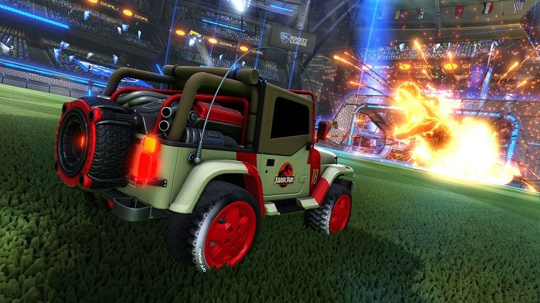 Rocket League New Car >> Rocket League Goes Jurassic With New Car Pack The News Wheel