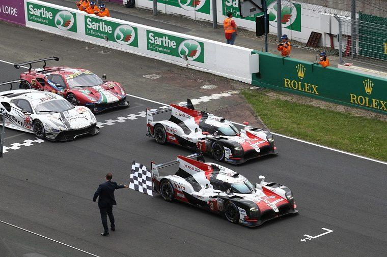 Toyota wins 2018 Le Mans