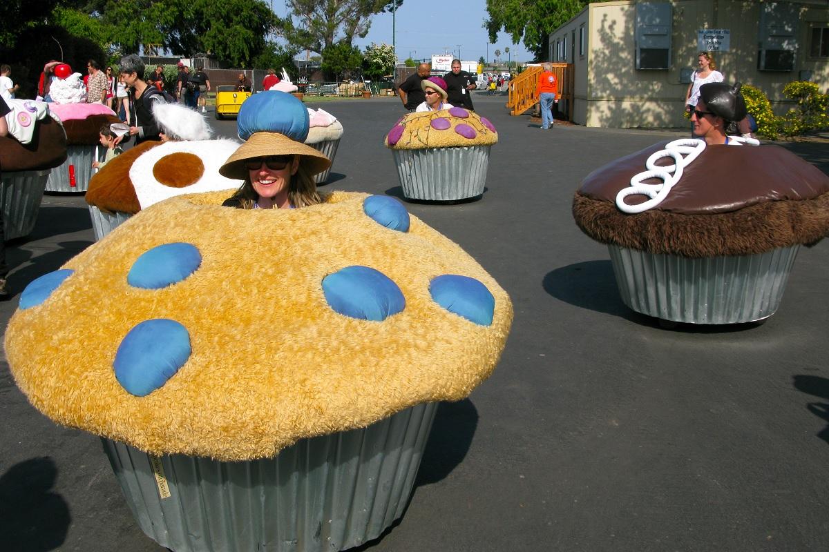 cupcake cars maker faire silicon valley california