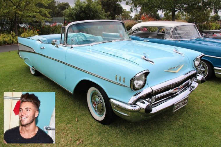 1957 Chevrolet Bel Air Convertible Gus Floribama Shore