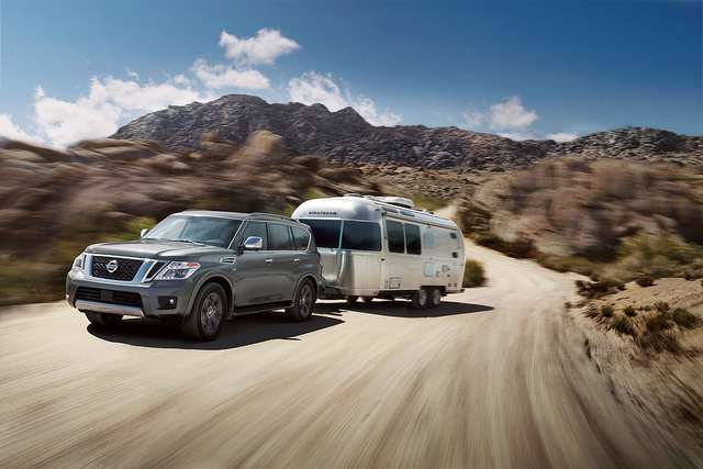 2018 Nissan Armada towing