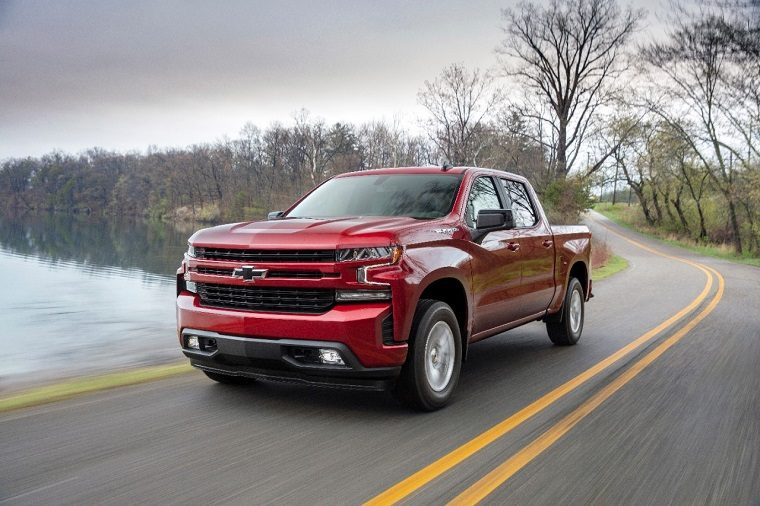 2019 Chevrolet Silverado 1500 trim levels and features