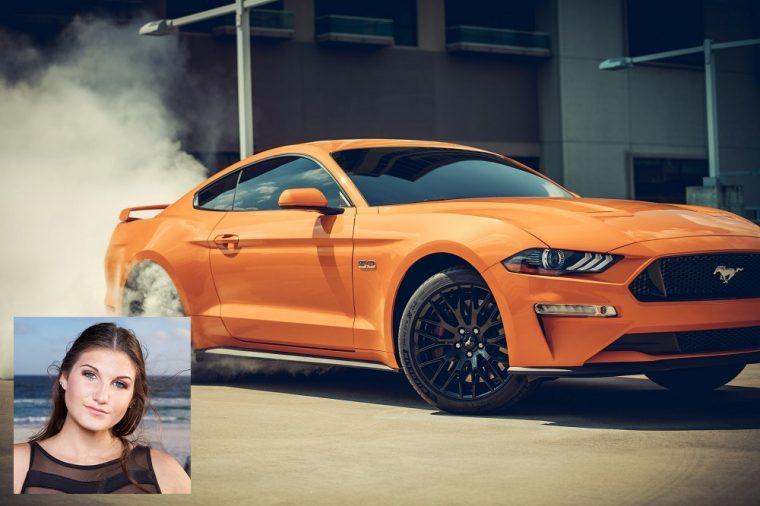2019 Ford Mustang fastback Kortni Floribama Shore