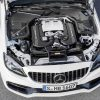 2019 Mercedes-AMG C63 S Coupe engine