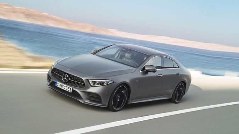 2019 Mercedes-Benz CLS side driving