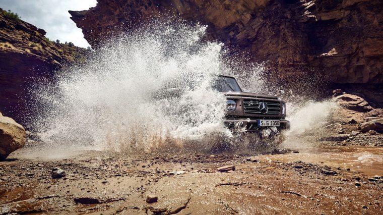 2019 Mercedes-Benz G-Class water splash
