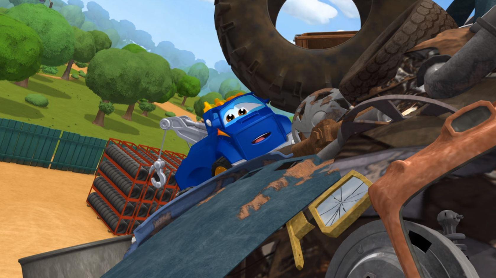 Adventures Of Chuck Friends Netflix Show For Children Kids Cars Racing Automobiles Netflix Show For Children Kids Cars Racing Automobiles on Car Brake Service